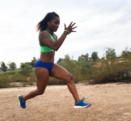 Olympian Hafsa Kamara
