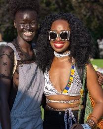Supermodel Khadia Diop #curlfest