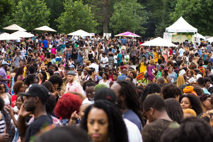 Curlfest 2017 at Prospect Park, Brooklyn, NY