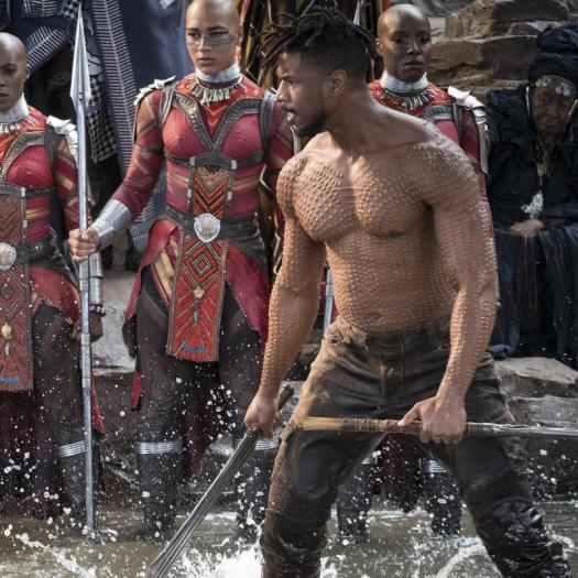 black panther erik killmonger stevens